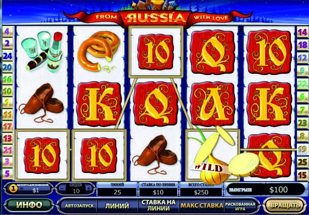 Играть на деньги в автомат Russian Poker в интернет казино AzartPlay