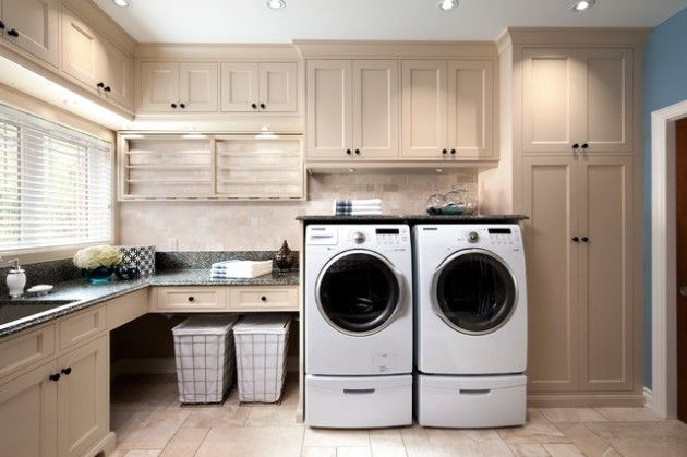 17 L Shaped Laundry Designs For Better Use Of The Space Functionality Laundry Room Layouts Elegant Laundry Room Modern Laundry Rooms