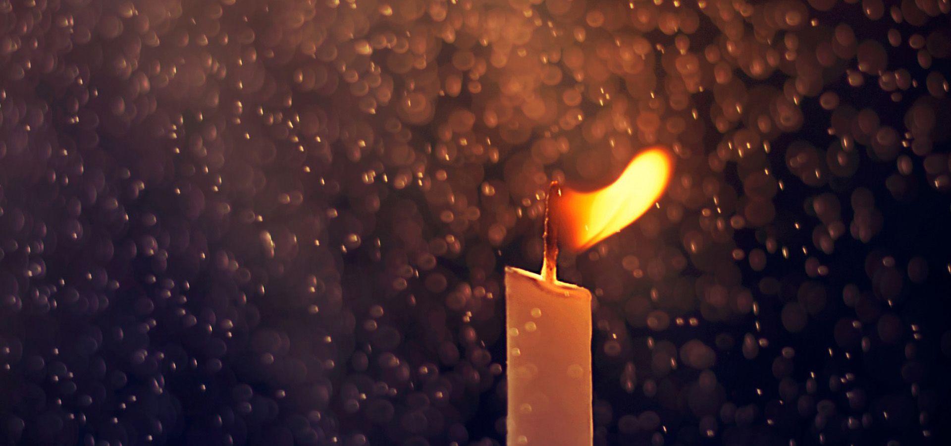 قطرات الشمعة الخلفية Candles Wall Lights Home Decor