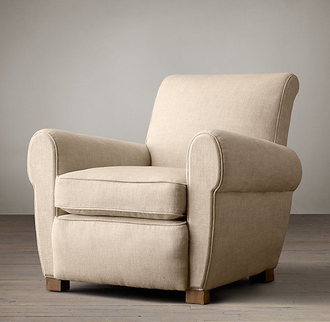 1920s Parisian Upholstered Chair