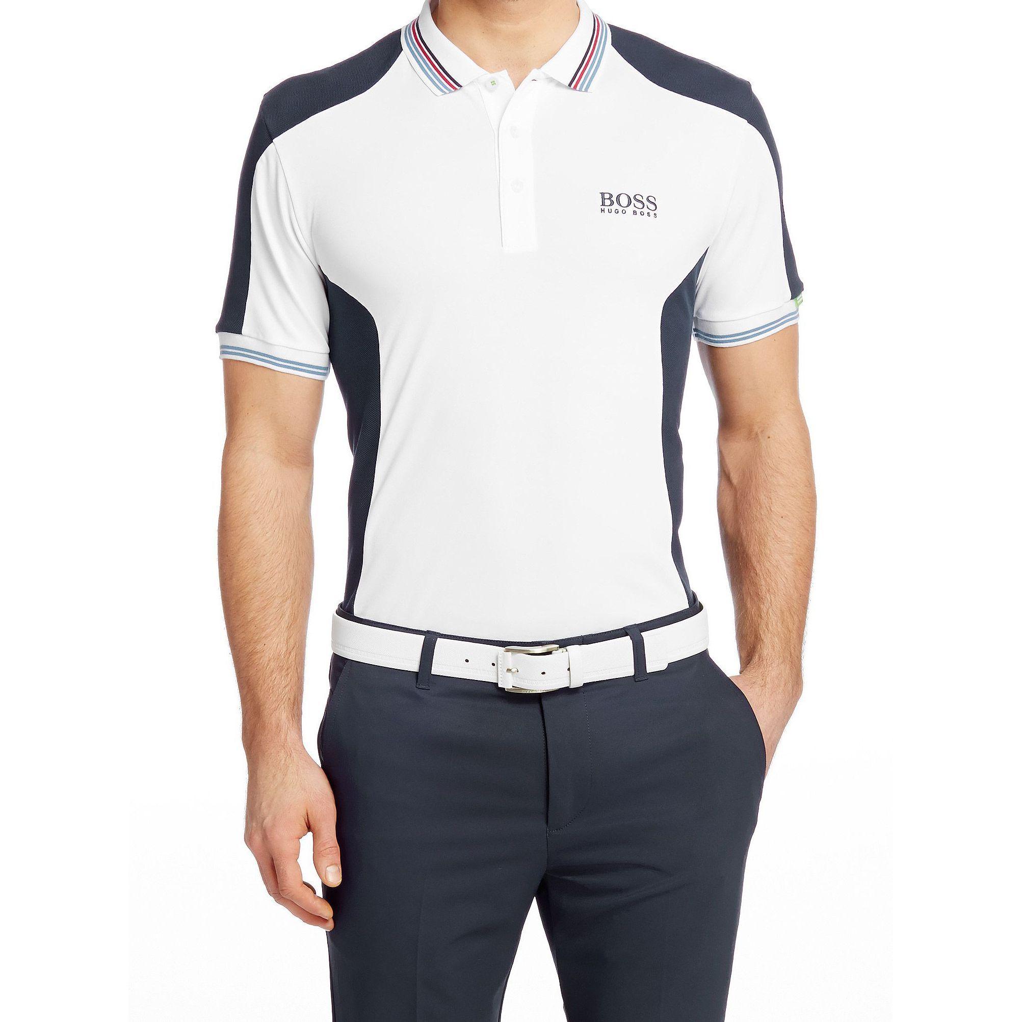 Hugo Boss Paddy Mk White Polo T-Shirt  3360acc6c85
