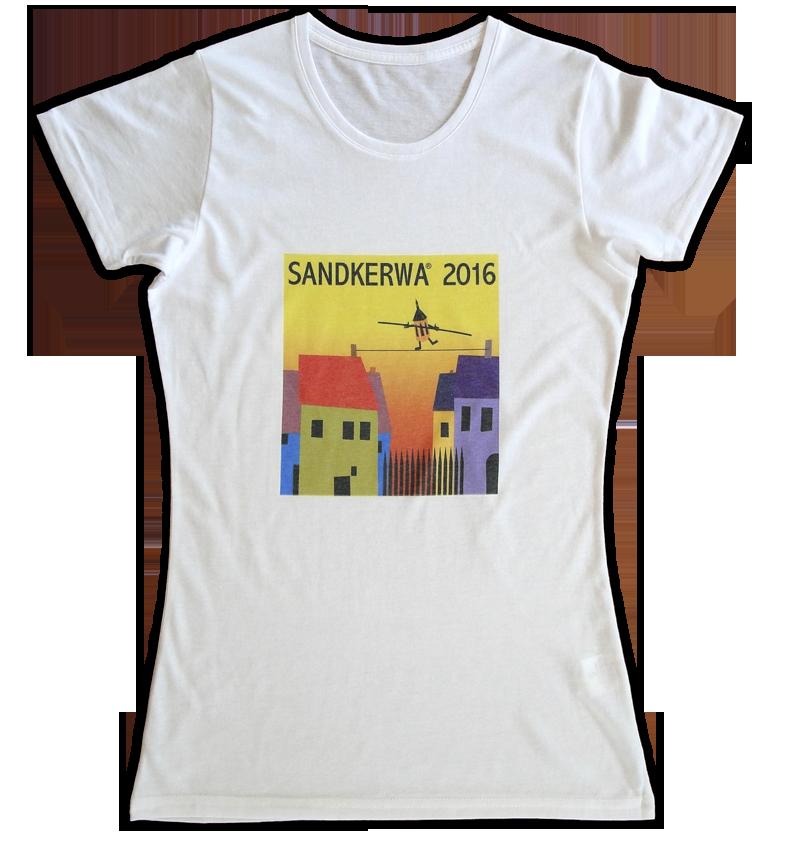Damen T-Shirt Sandkerwa 2016 - Dein Lieblingsstück aus Bamberg