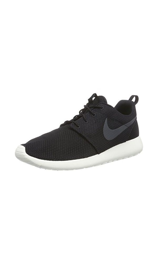 62505a032c34 75  - Nike Men  s Rosherun Black Anthracite Sail Running Shoe 10 Men US   footwear  shoe  boot  shoes  leather  lace  foot  pair  covering  clothing   fashion ...