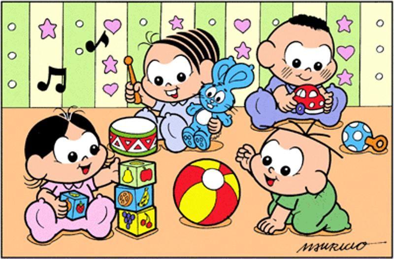 Turma Da Monica Com Imagens Turma Da Monica Baby Pinturas De