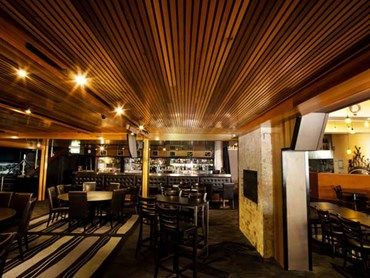 Case Study TwoTone Timber Panelling Makes A Striking Statement