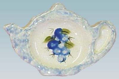 british teapot teabag holder | Teabag Holder #164
