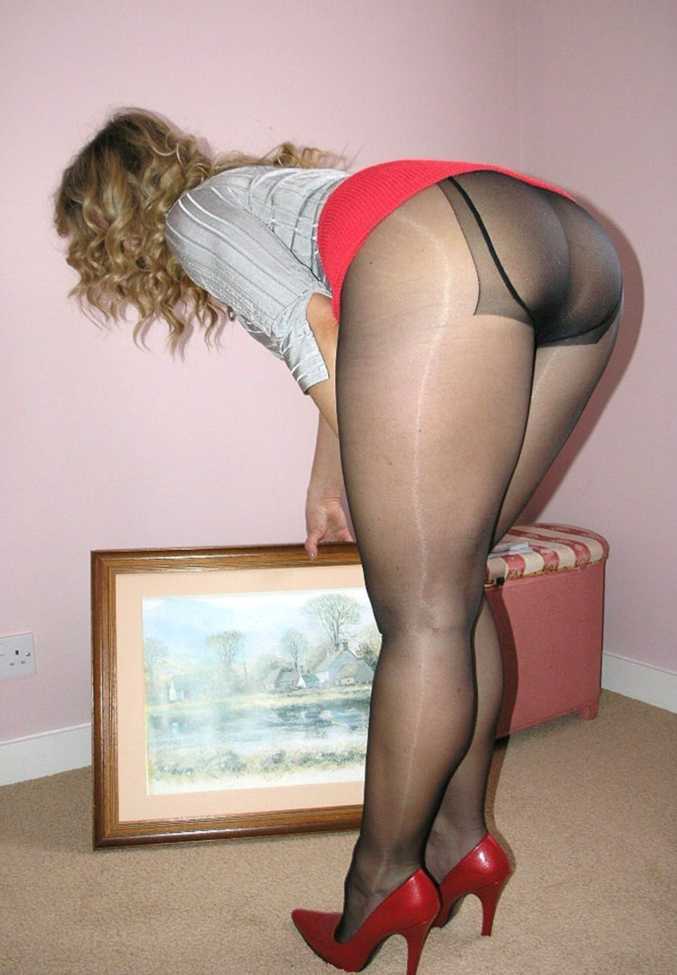Pantyhose best nylon girls best