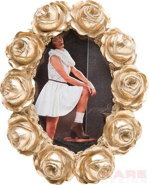 Rahmen Rose Garden Gold 10x15cm Gold Kare Design Wien Austria