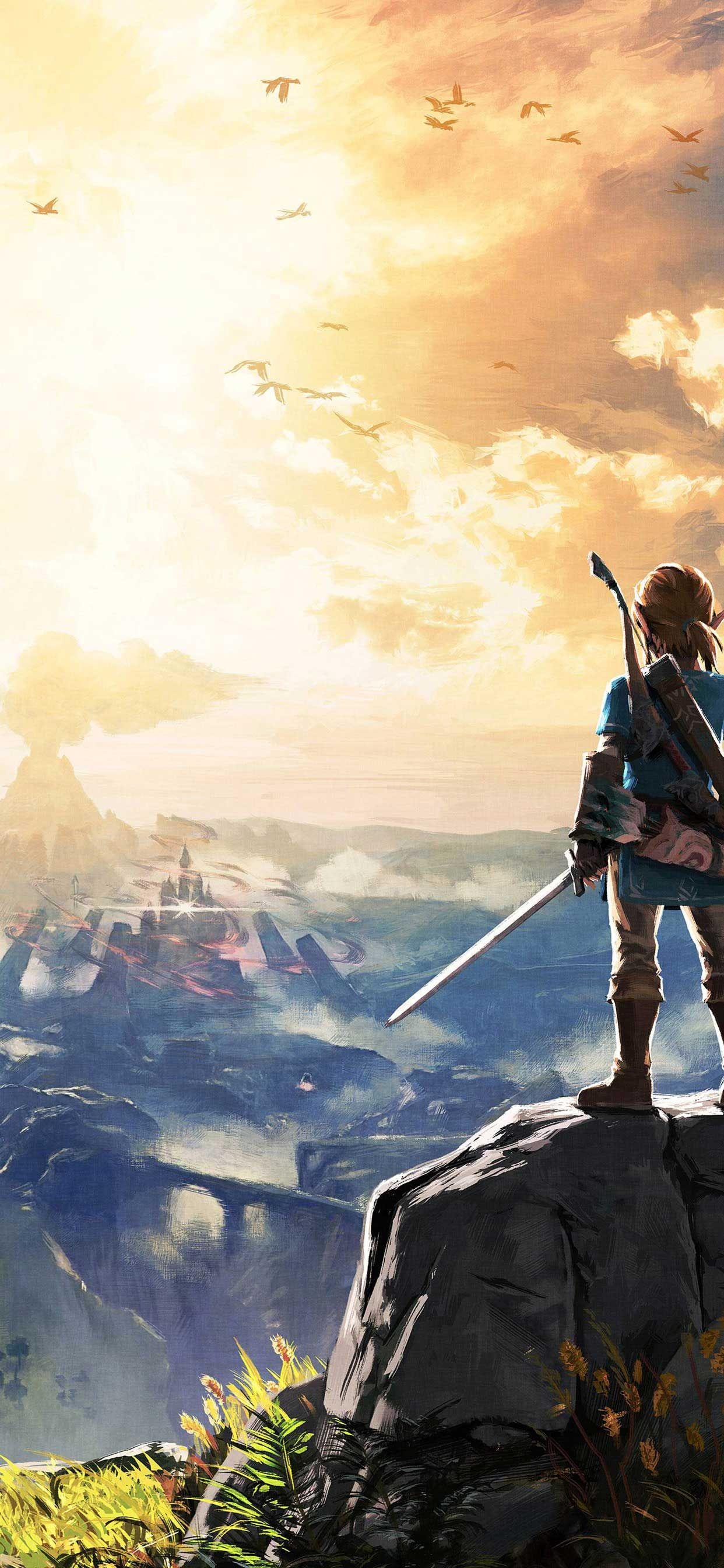 The Legend Of Zelda Breath Of The Wild K Wallpaper Iphone Pro Ma Wallpaper Legend Of Zelda Legend Of Zelda Breath World Wallpaper