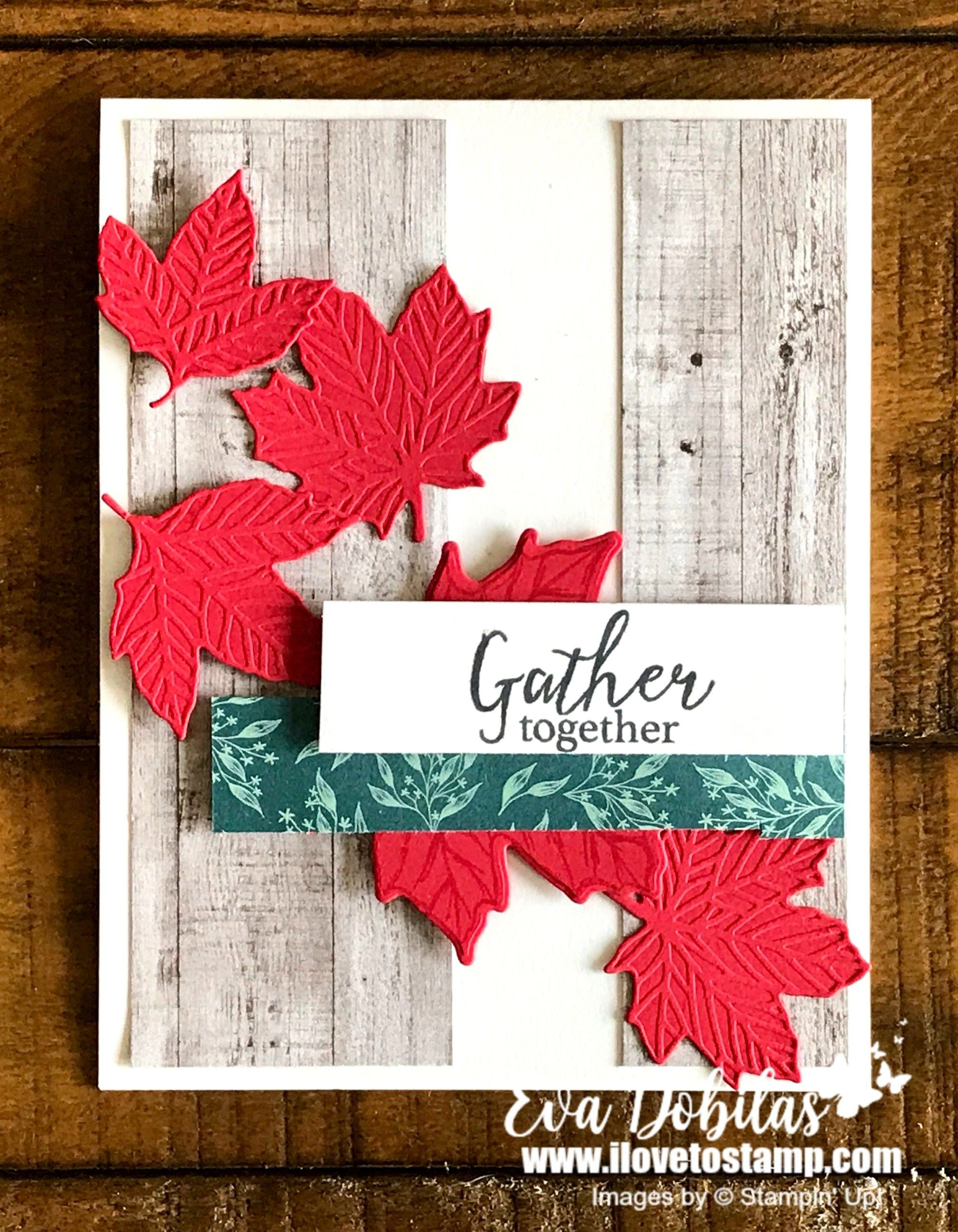 Quick and Easy Gather Together Canadian Thanksgiving Card