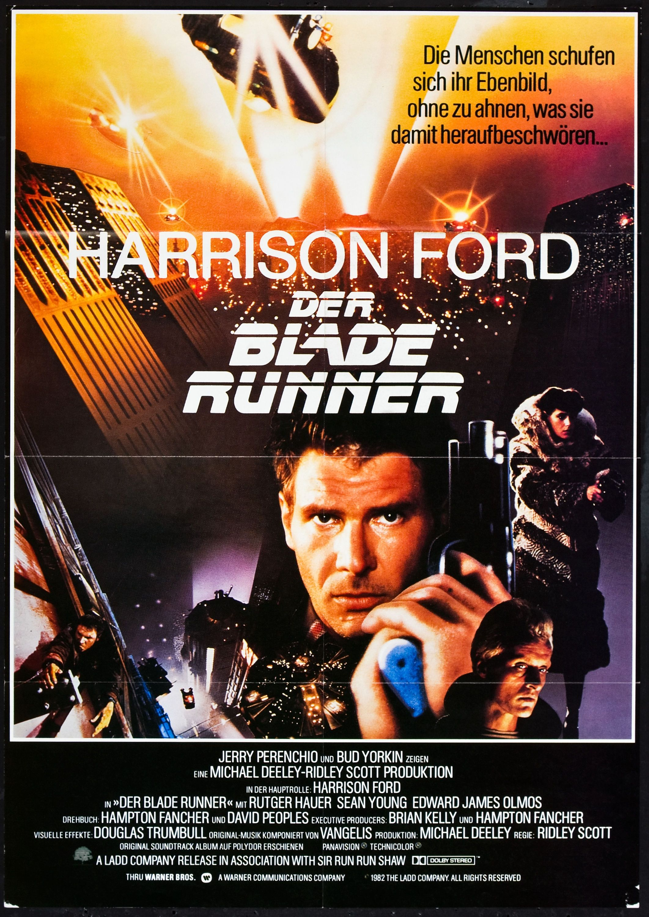 Blade Runner German Movie Poster Con Imagenes Blade Runner