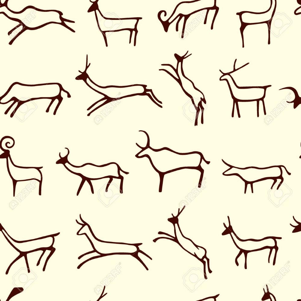 Cave Drawings Pattern Cave Drawings Ancient Drawings Petroglyphs Art