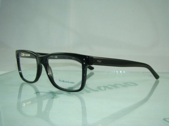 Case Eyeglasses Frames Polo 5001 2057 Original Ralph Lauren Black 354cAjLRq