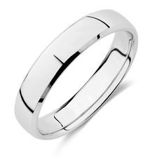 Say I Do In Style With This Stunning White Gold Wedding Band The Is A Glorious Twist On Classic Yellow Choice