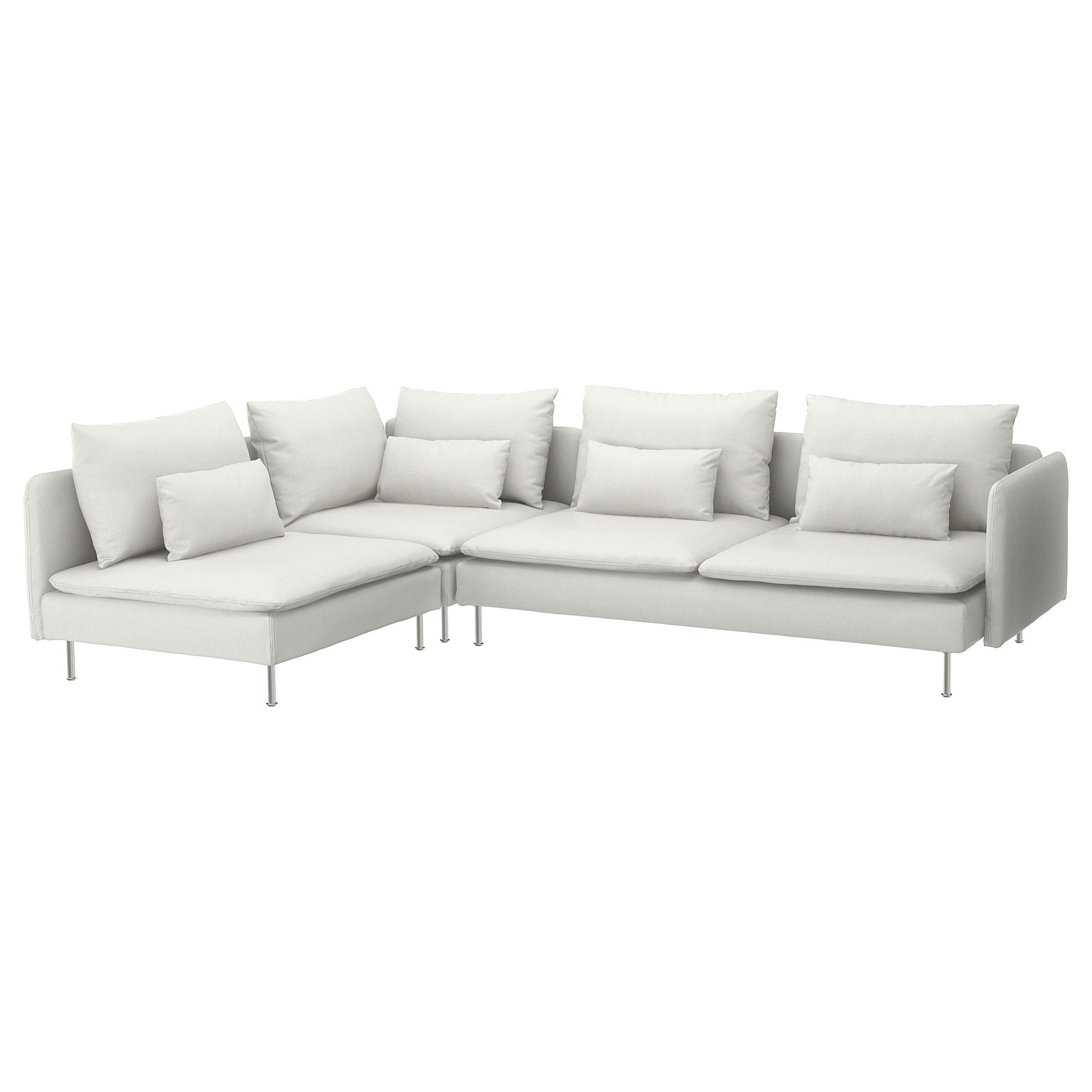 SÖDERHAMN Sectional, 4seat corner with open end