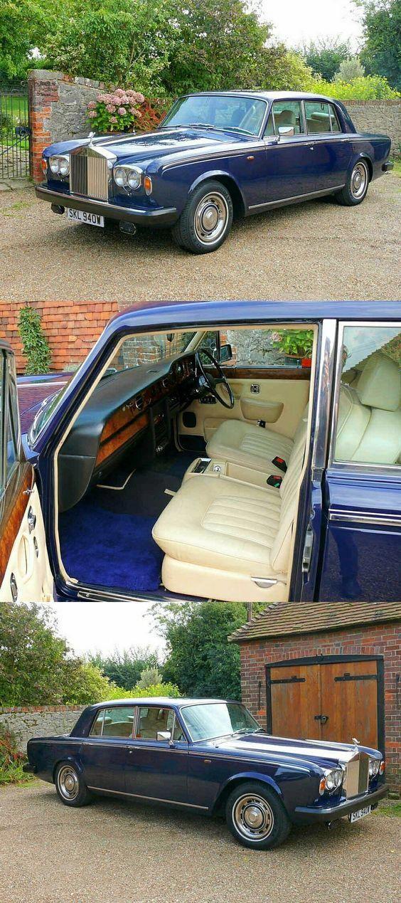 1980 Rolls Royce Silver Shadow II Rolls royce silver