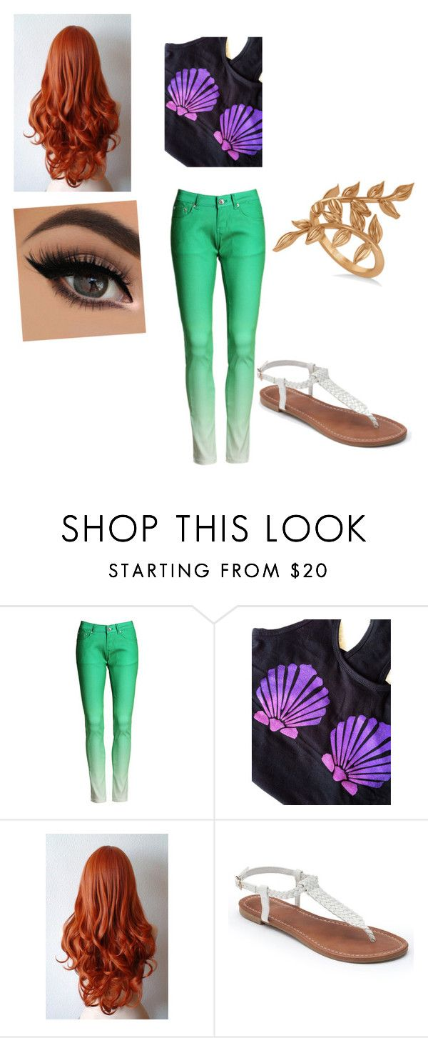 """""""Untitled #16"""" by makayla-lovell ❤ liked on Polyvore featuring Apt. 9 and Allurez"""