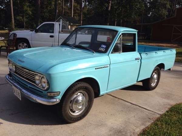 1967 Datsun 520 pickup truck with the J series engine ...