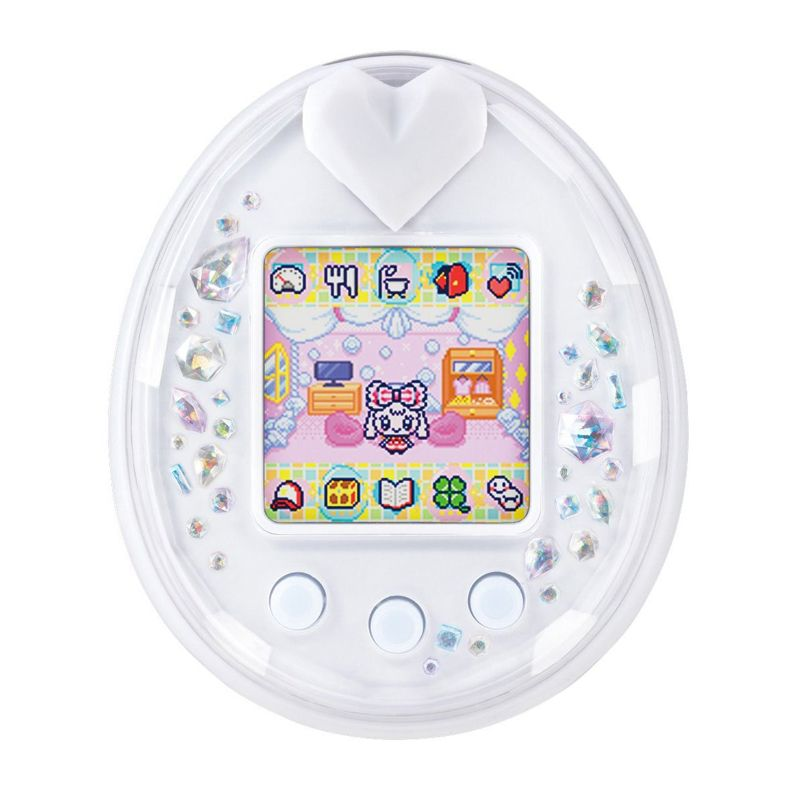 [Tamagotchi] Tamagotchi P's white   (I have the yellow one but this is kinda stunning :'| )