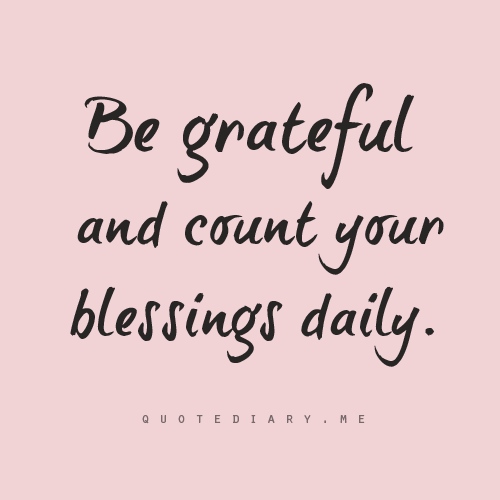30+ When i count my blessings quotes inspirations