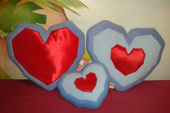 Zelda ocarina of time heart container heart piece plush