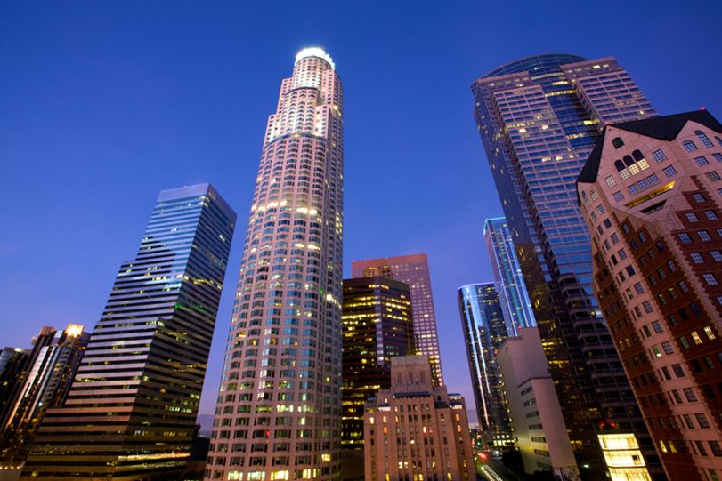 Oue City Of Angels Landscape Los Angeles