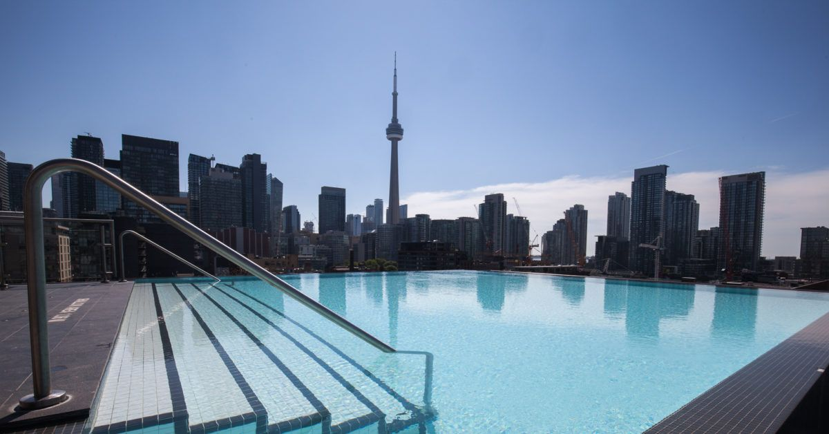 Condo swimming spots The hidden infinity pool above King