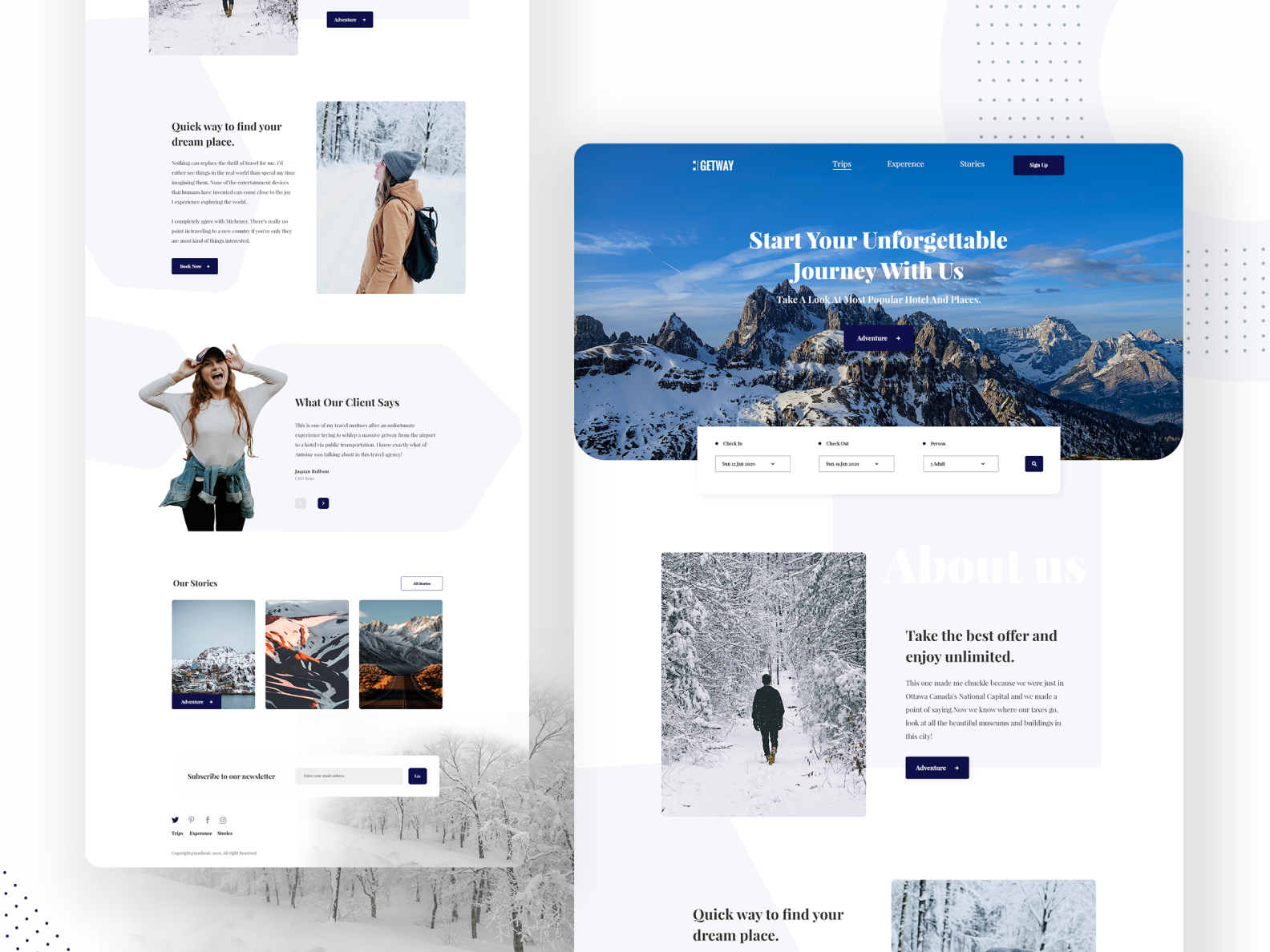 Landing Page Thumbnail by Syed Roni