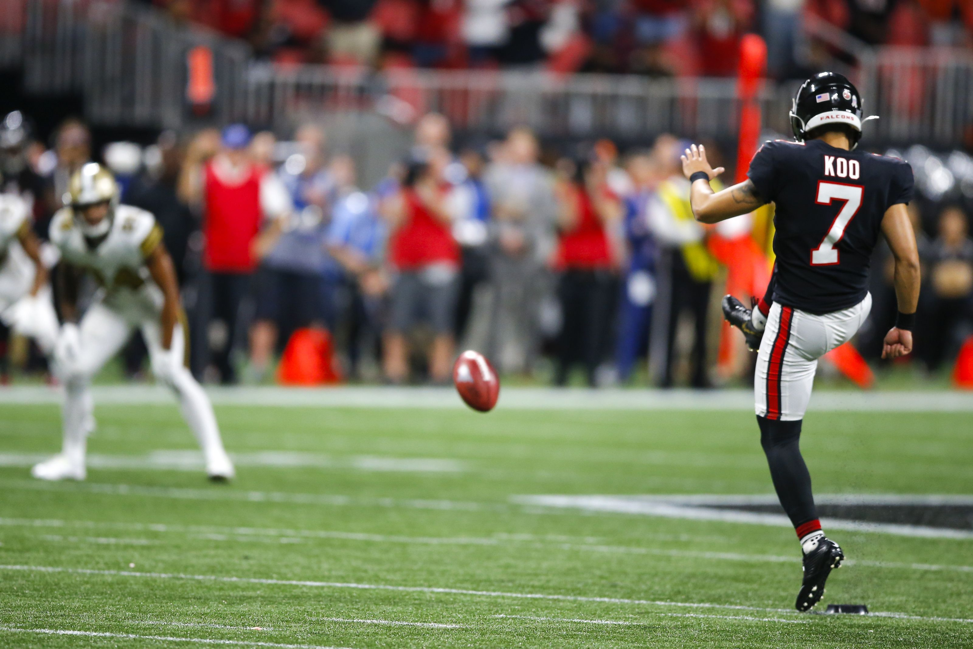Atlanta Falcons Younghoe Koo Is Nfl S Best National Football League News Atlanta Falcons Kicker Younghoe Koo Converted Three Su Nfl Football League Nfl News
