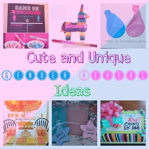 Unique and Fun Baby Gender Reveal Ideas – Ideas for Announcing Baby Gender