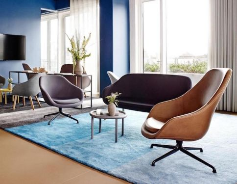 Hay About A Lounge With Swivel Base Lounge Chair Lounge Chair