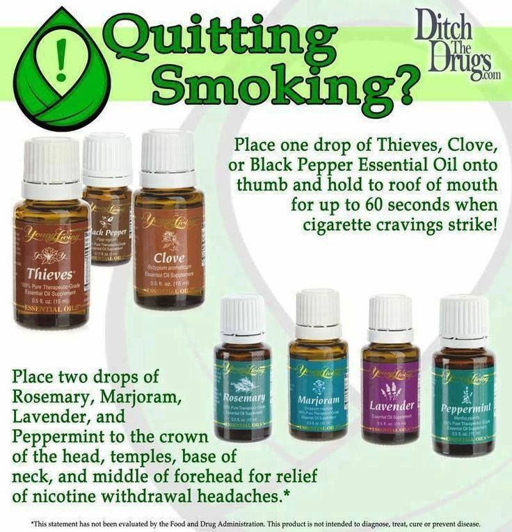 Young Living Home Remedy Essential Oils Quit Smoking