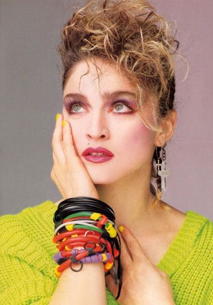 Madonna Was So Cool In The 1980s She Convinced Us That Wearing Piles Of Rubber Bracelets On Top Each Other Looked Good