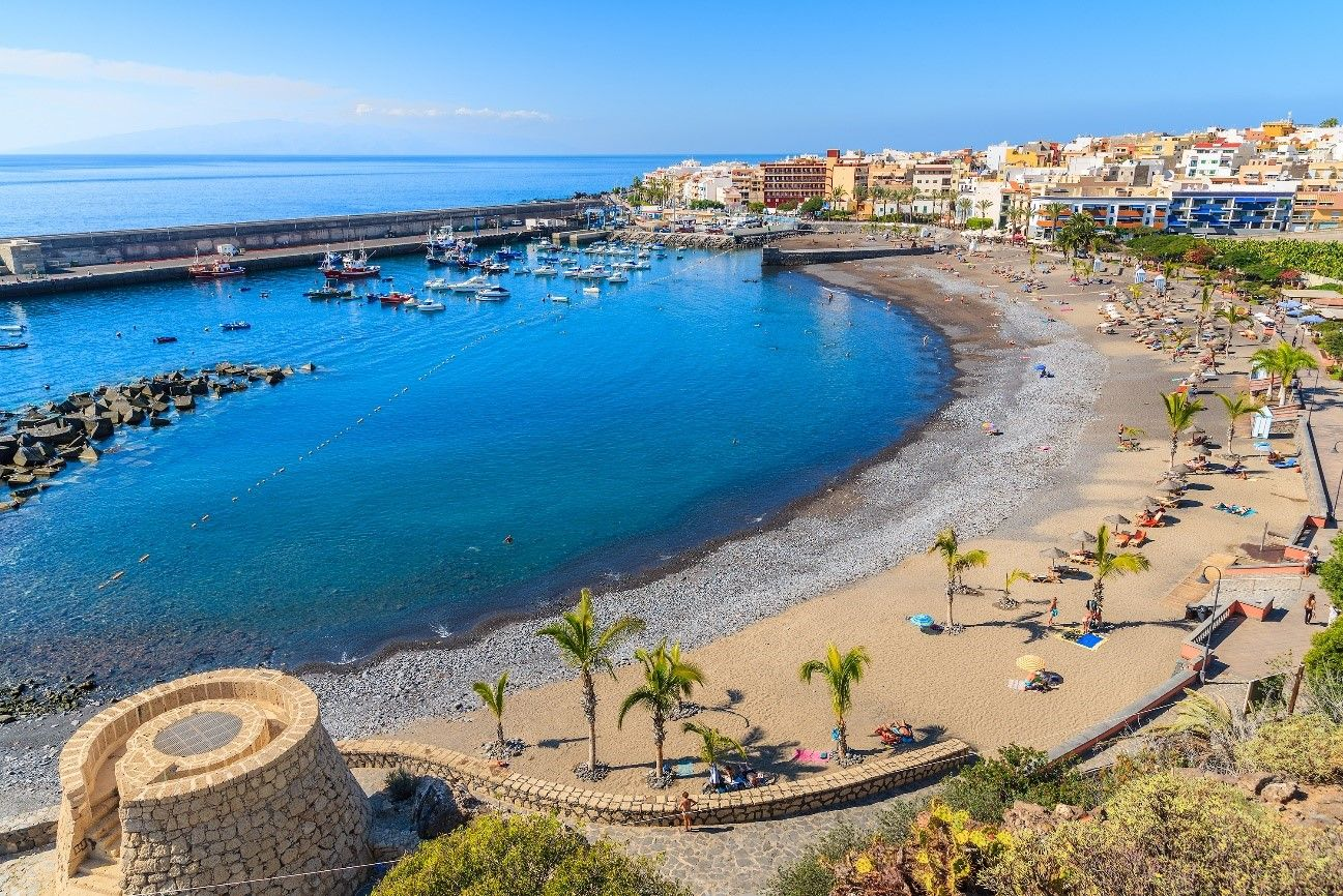 Mejores playas familiares, Playa San Juan, Tenerife, Islas