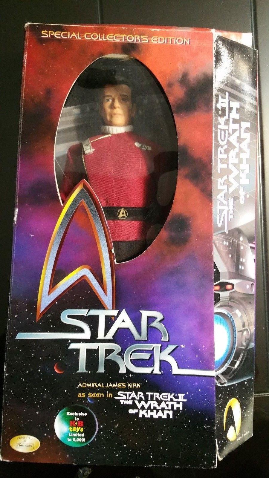 Admiral James Kirk Star Trek II WOK KB Toys Wrath of Khan Star Trek ...