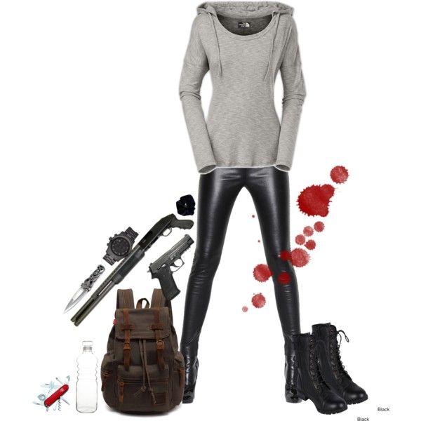 Badass Zombie Apocalypse Outfit