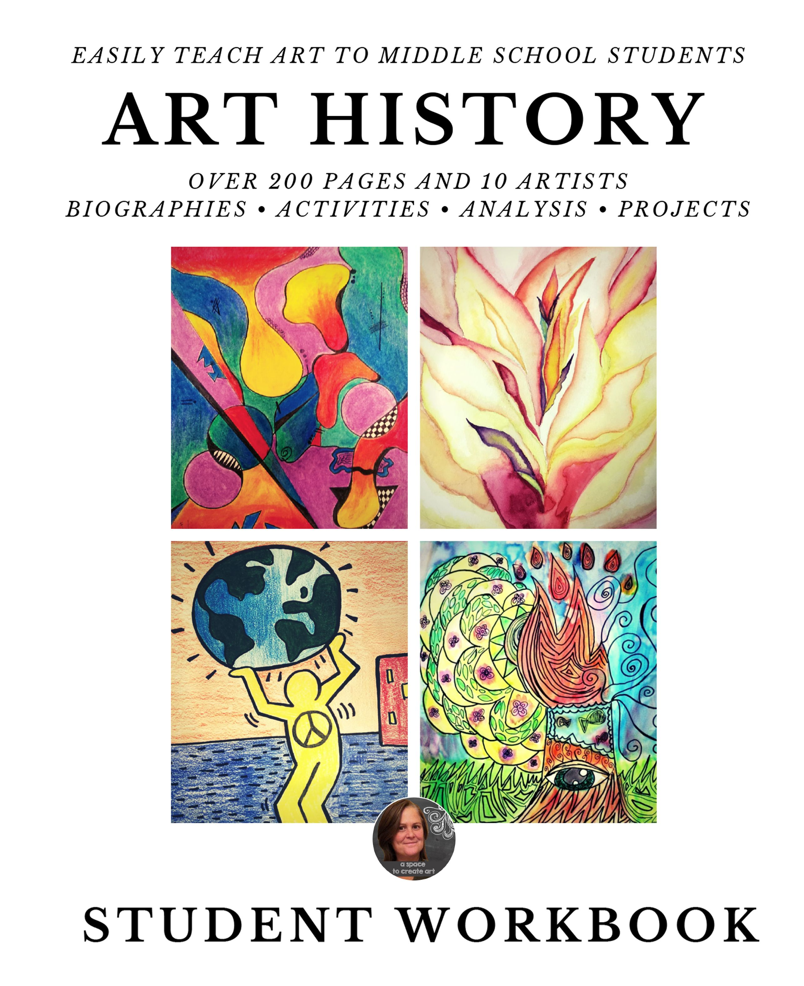 Art History Workbook For Middle School Art History