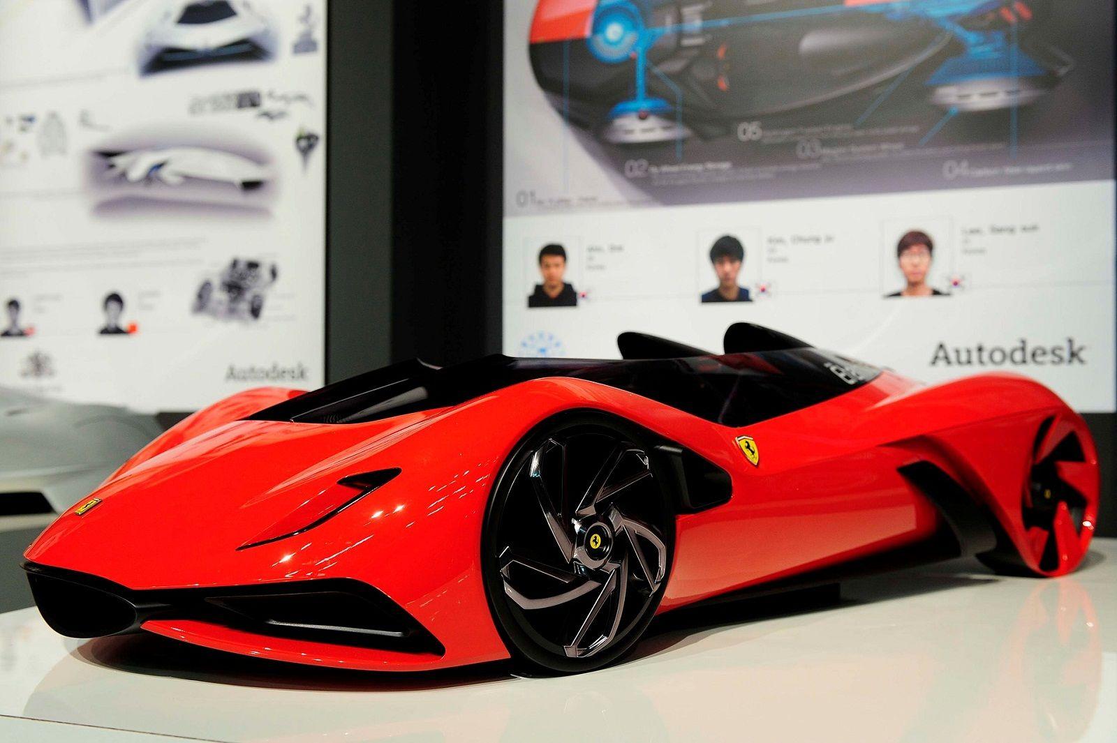 Ferrari Eternita Concept 2011 Concept Cars