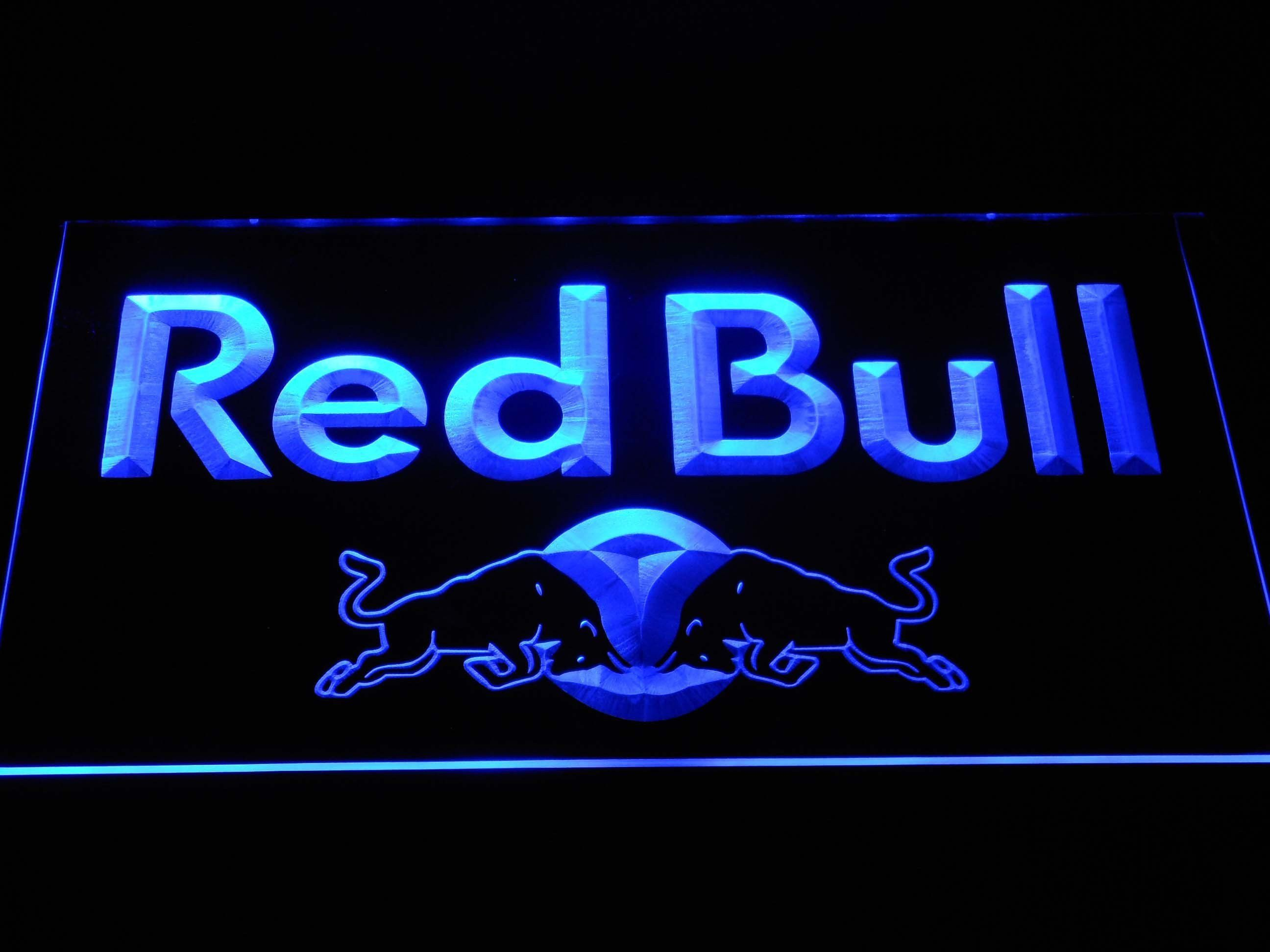 Red Bull Wordmark LED Neon Sign Led neon signs, Neon