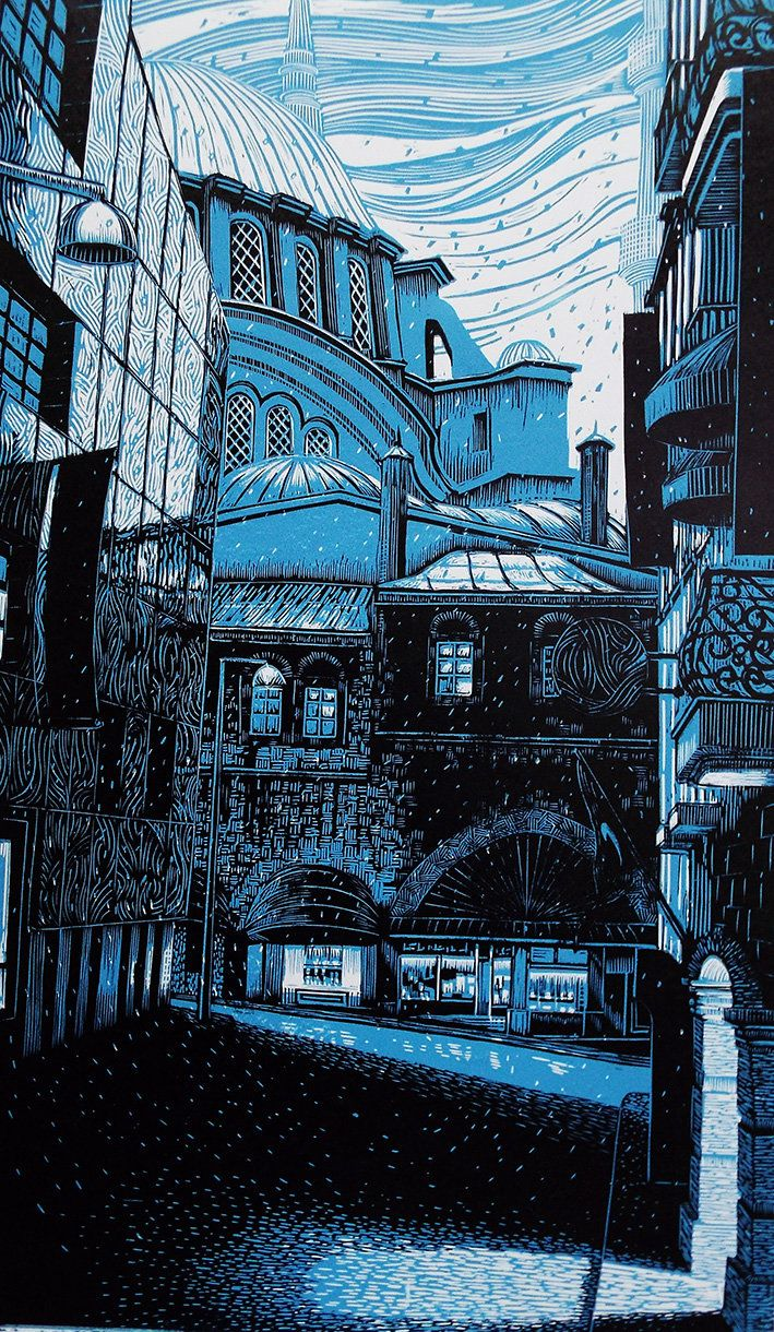 Bryan Angus Scottish Artist, painter, pastels, lino prints ...