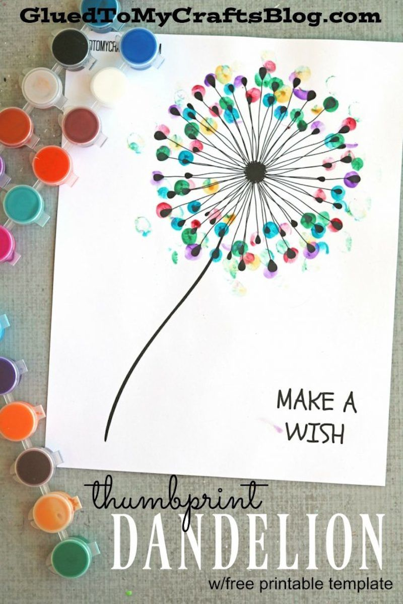 25 FREE Printables For Your Home | Dandelions, Free printables and Craft
