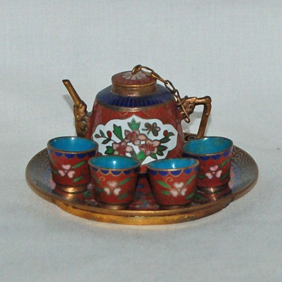 Antique Chinese Tea Set