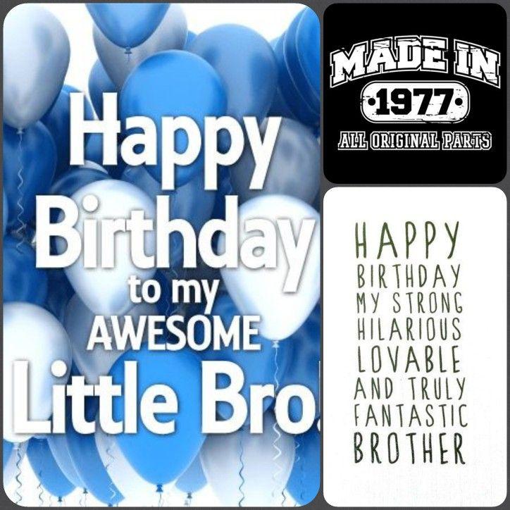 Happy 40th Birthday To My Lil Bro