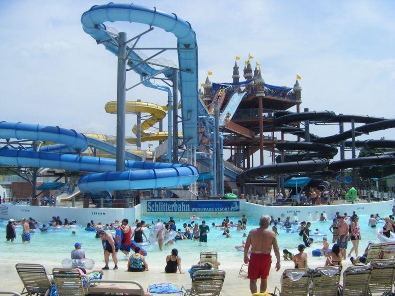 Schlitterbahn Waterpark Resort New Braunfels Texas Usa