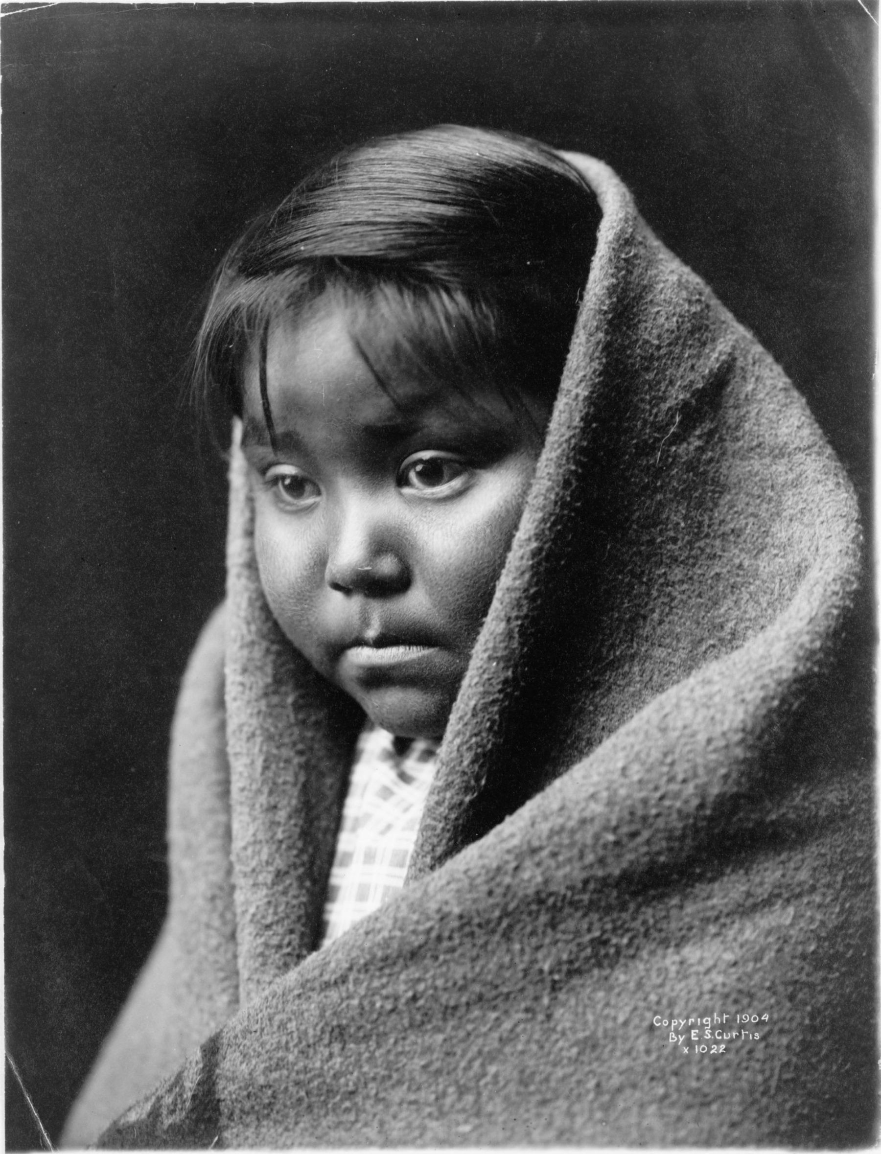 A Child of the Desert by Edward Sheriff Curtis