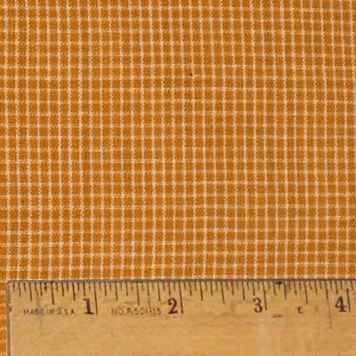 Pumpkin Spice 1 - This soft 100% cotton homespun fabric is 44 to 45 inches wide and is the perfect fabric to use for the popular ragged style quilting. The fabric features a rich pumpkin or rust color and a soft tea dye neutral which are widely used colors in autumn style crafts and in contemporary home decor projects. Pumpkin Spice 1 matches up with the other fabrics in the Pumpkin Spice line although there may be slight color diffences in the bolt dye lots. This homespun fabric is also…