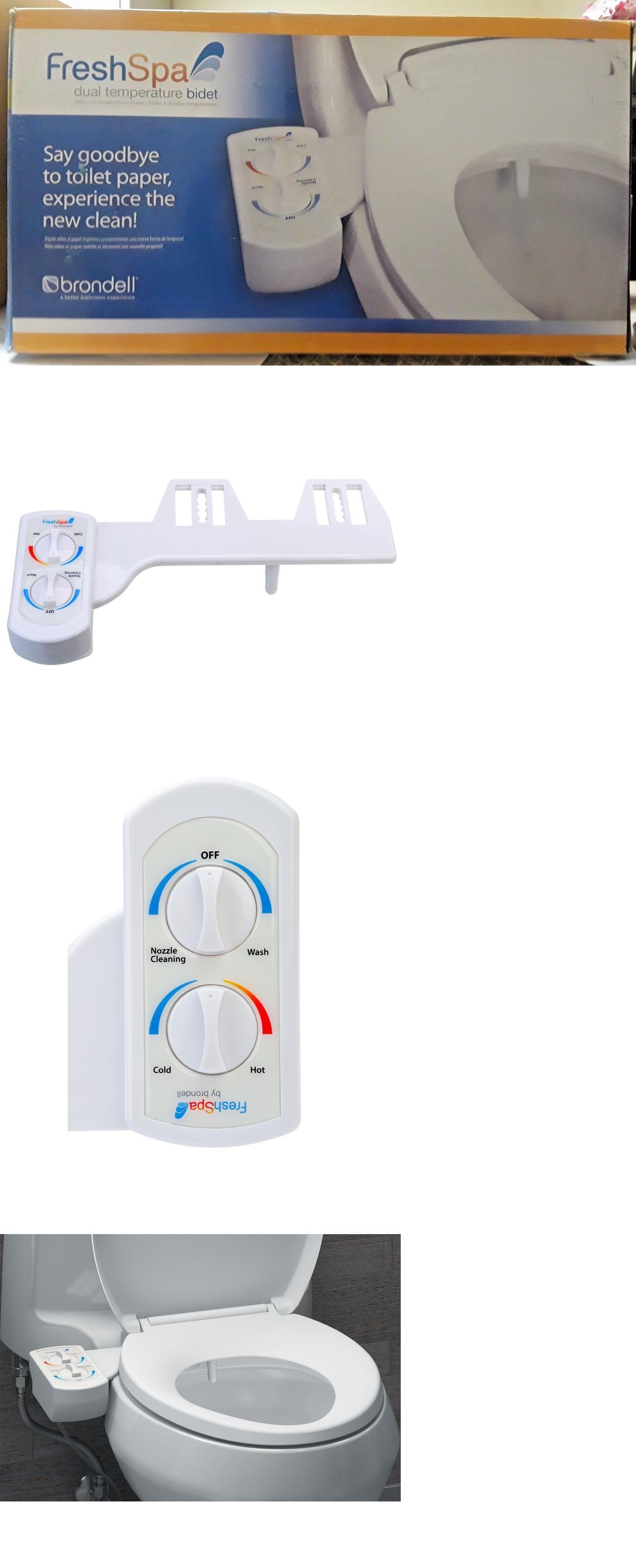 Bidets And Toilet Attachments 101405 Brondell Model Fsw 20 Dual