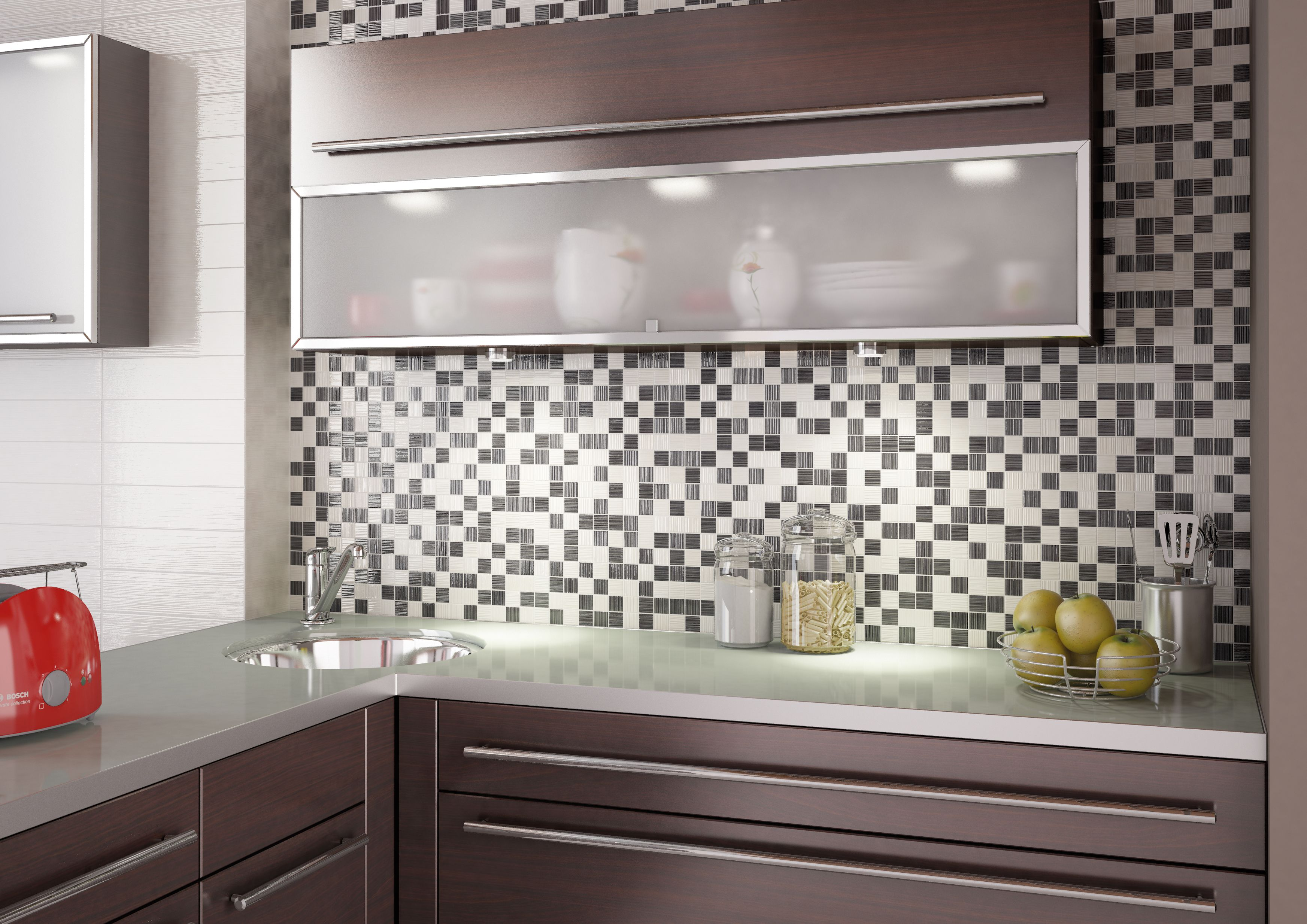 Ceramic Tile has a low rate of water absorption so suitable for wall ...