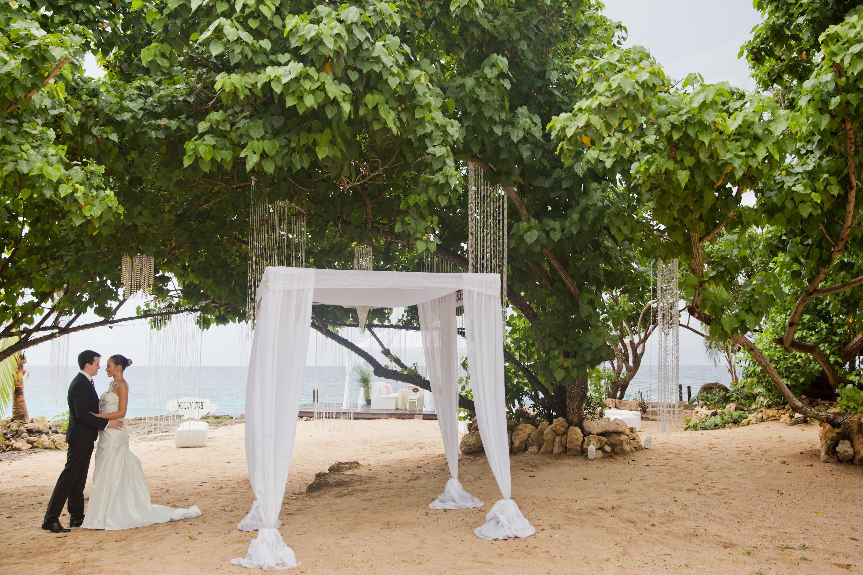 Beach Cliffside Destination Wedding Venue In Jamaica