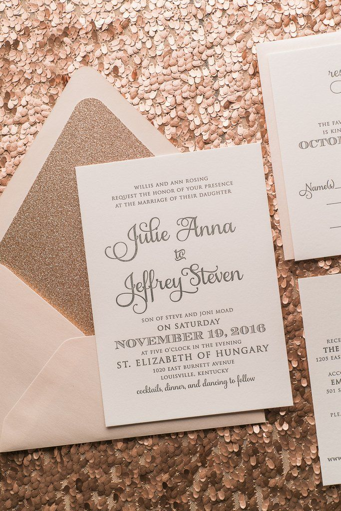 CASEY Suite STYLED Glitter Package Glitter wedding